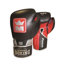 Gants boxe Punch 3 cuir Montana