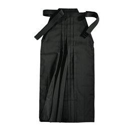 Hakama Kwon 65 polyester et 35 coton noir