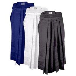Hakama Ayabuza 65 polyester et 35 coton bleu royal