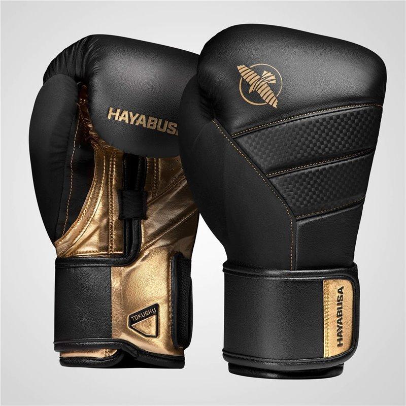 Gants de boxe Hayabusa T3 noirs/or