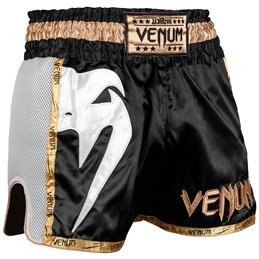 Short de Muay Thai Venum Giant noir/or