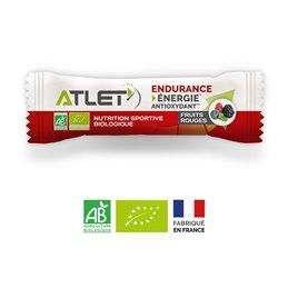 Barre énergétique biologique salée ATLET noix de cajou et pistache
