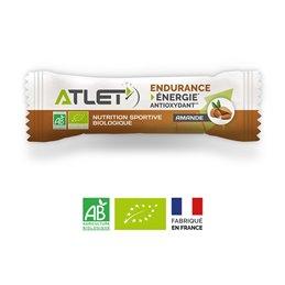 Barre énergétique biologique ATLET amande