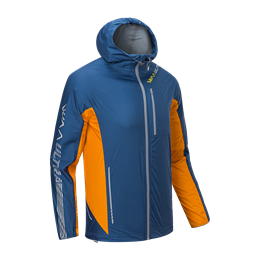 Veste de pluie Ultra light 3.0 Jacket Homme bleu/orange