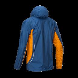 Veste de pluie Ultra light 3.0 Jacket Homme bleu/orange