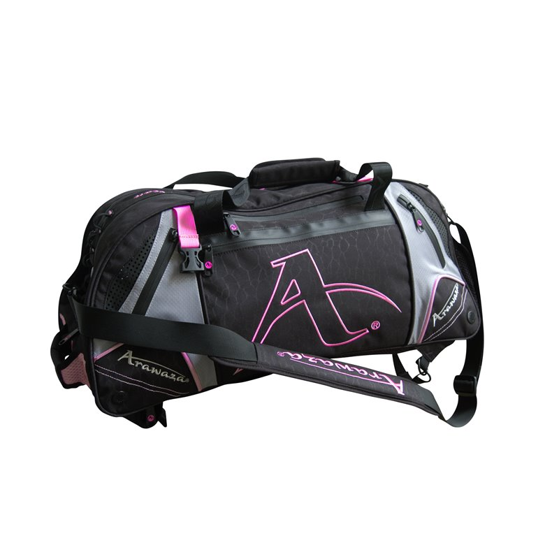 Sac de sport Arawaza noir/rose taille M 72x42 cm