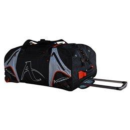 Sac de sport Arawaza noir/orange a roulettes taille au choix