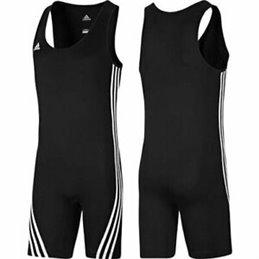 Tenue halterophilie Adidas noire base homme