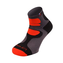 La Chaussette de France Running modele Nepal gris orange
