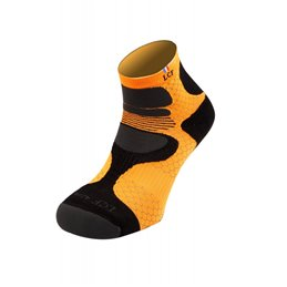 La Chaussette de France Running modele Nepal noir orange