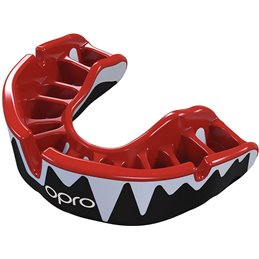Protege dents Shock doctor Opro Platinium Noir dentition