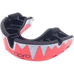 Protege dents Shock doctor Opro Platinium Rouge dentition