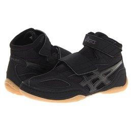 Chaussure de lutte scratch Junior Asics matflex 4 noir