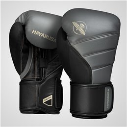 Gants de boxe Hayabusa T3 anthracite/noir