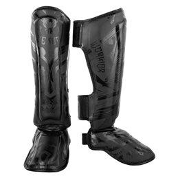 Protege tibias pieds Elite Venum Noir gladiator 3.0