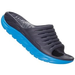 Sandales claquettes Hoka recovery Ora noir