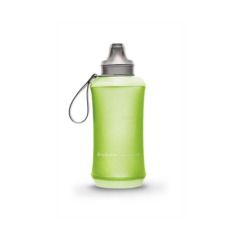Bouteille Souple Crush 500ml vert Hydrapak
