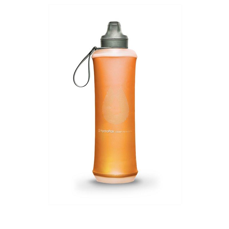 Bouteille Souple Crush 750ml orange Hydrapak