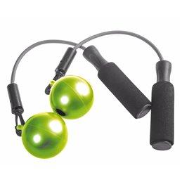 Corde à Sauter avec Boules Adulte Vert (S) 300g