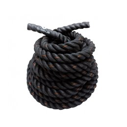 Corde ondulatoire gainée 38mm Battle rope Sveltus 15m