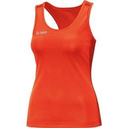 Debardeur running trail Femme Jako 6075 orange