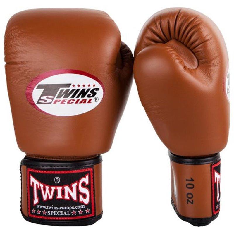 Gants de boxe Twins BG Marron
