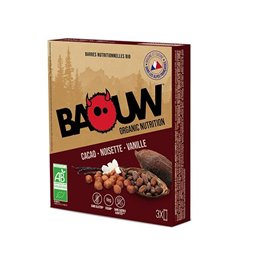Barre Baouw lot de 3 parfum Cacao noisette Vanille