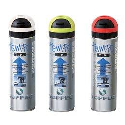 Bombe traceur Fluorescent ephemere a base de craie couleurs au choix