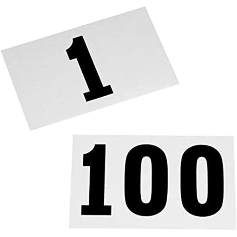 Lot de 100 dossards Running / Course à pied / Trail imperméables numéros de 1 à 100