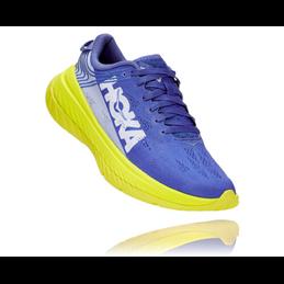 Chaussure Hoka One One Carbon X bleu/jaune