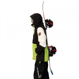 Porte-ski Double modele Snow back