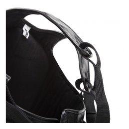 Protection poitrine Venum noire rouge