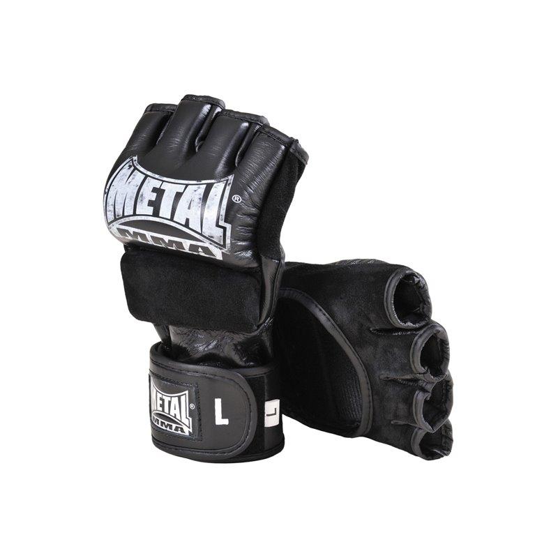 Gants combat libre Metal boxe cuir MB594 sans pouce