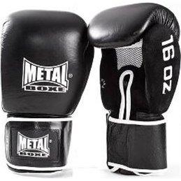 Gants de sparring cuir Metal Boxe