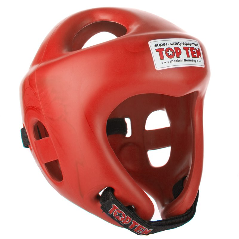 Casque competition Topten fight rouge