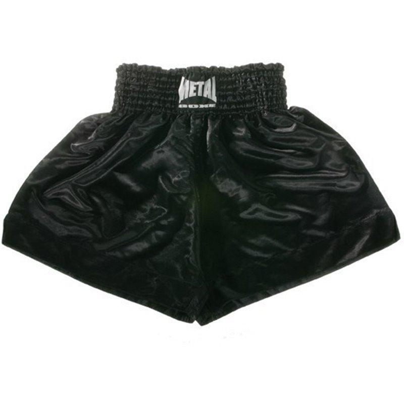 Shorts thai Metal Boxe Noir