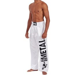 Pantalon full contact Metal Boxe Visual noir ou blanc