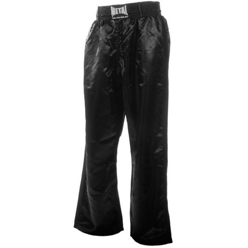 Pantalons full contact Metal Boxe noir senior