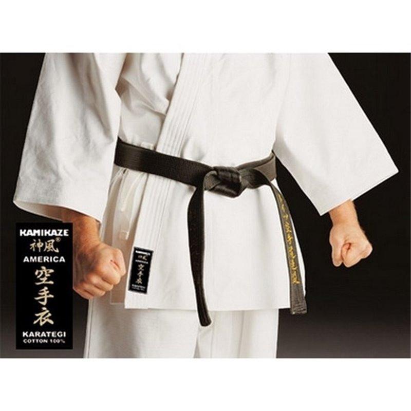Kimono de karate Kata America Kamikaze blanc