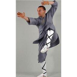 Tenue Shaoline grise kwon