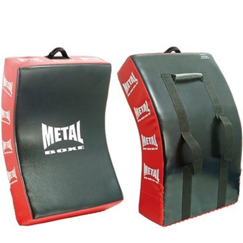 Grand bouclier courbe Metal boxe 78 x 47 x 16 cm