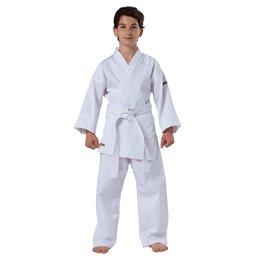 Kimono karate blanc debutants petits tailles Kwon + ceinture blanche