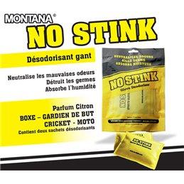 """Desodorisant anti-bacterien """"NO STINK"""" pour gants la paire"""