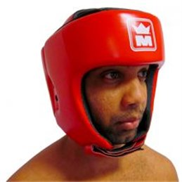 Casque de boxe Montana Kombat Rouge