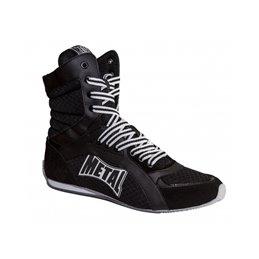 Chaussure de boxe Viper montantes Metal boxe Noir