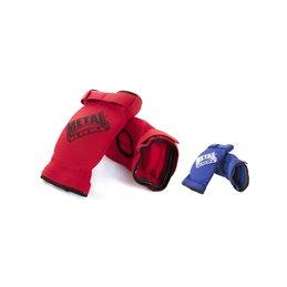 Coudière rouge ou bleu Metal boxe