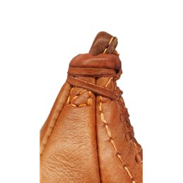 Poire de vitesse vintage collection Cuir camel