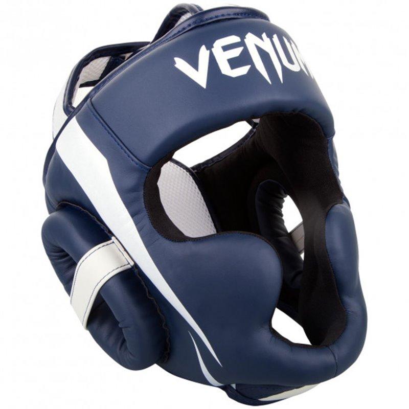 Casque Venum Elite semi-cuir bleu taille unique