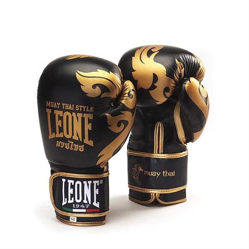 Gants Leone Muay Thai noir
