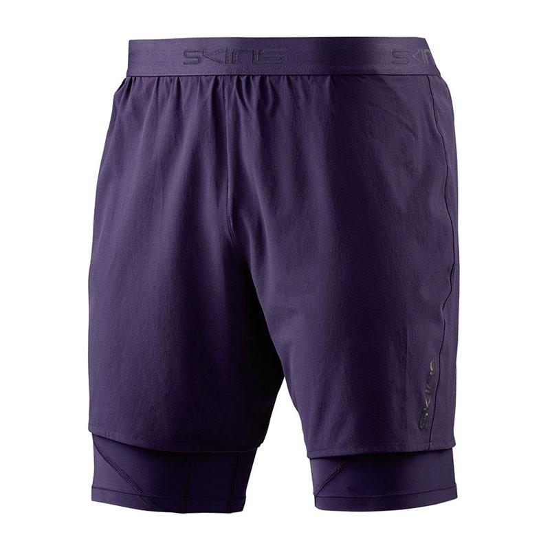 Short Dynamic Skins superpose 1/2 tights marine